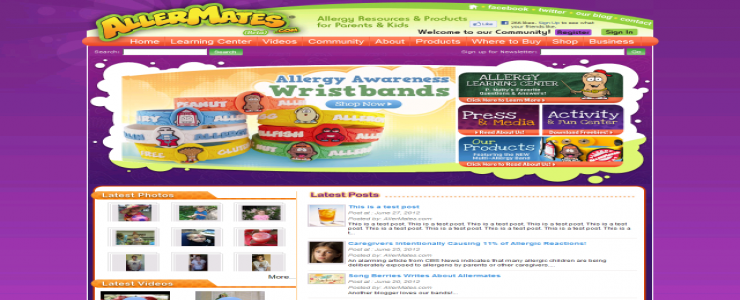 Allermates - Allergy Resources and Products